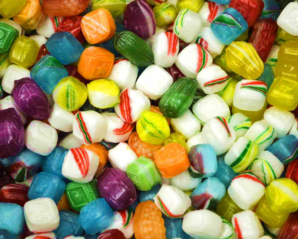 Hard Tack Holiday Candy