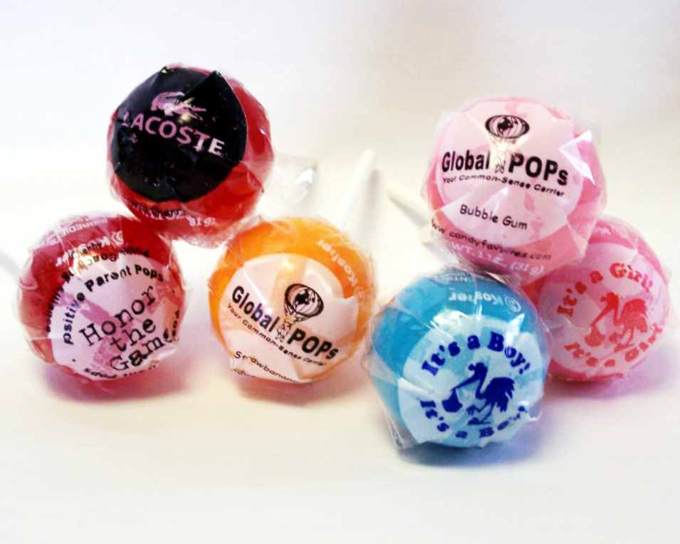 Custom Lollipops