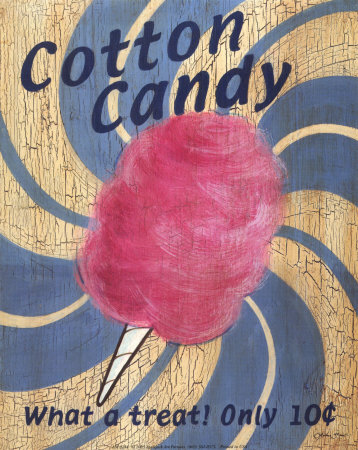 Retro Cotton Candy