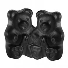 Black Cherry Black Gummi Bears