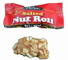 Pearson Nut Rolls - Wrapped and Unwrapped